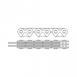 CABLE FREIN SCOOTER TEKNIX ARRIERE PIAGGIO TYPHOON -2011 / NRG / STROM / NTT (LUBRIFIEE) Accueil 210133 TEKNIX 10,80€
